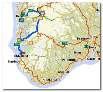 kart over stavanger Leie tilhenger i Stavanger? kart over stavanger